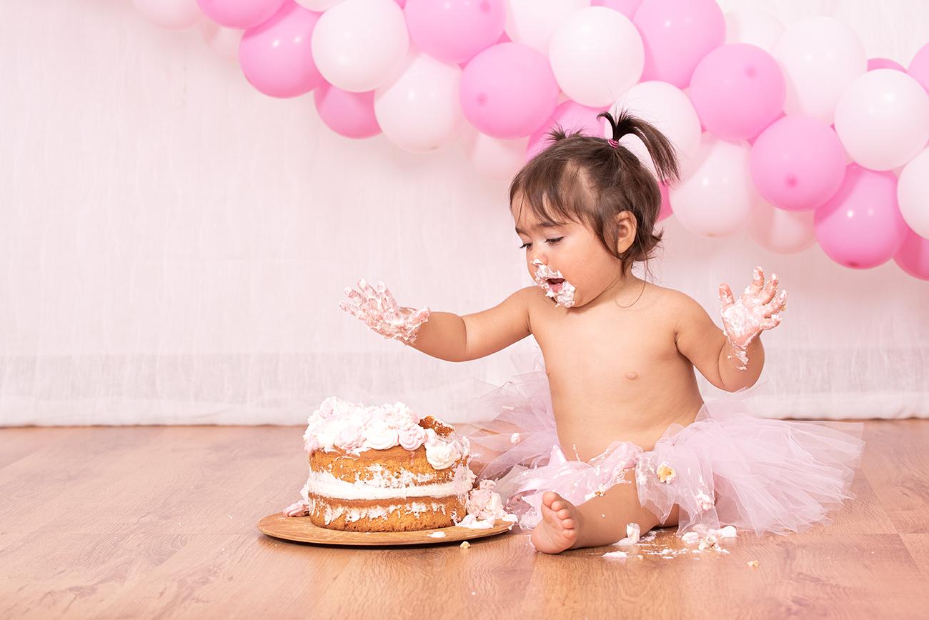 Servizio fotografico bambini smash the cake Lecce